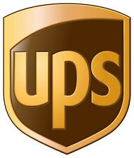 UPS United Parcel Postal Service Vinyl Sticker Decal Truck Car Bumper