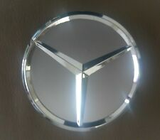 Mercedes Benz Wheel Rim 75mm SILVER CHROME Centre cap A B C E S ML GL