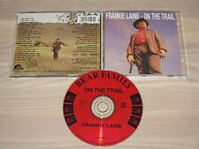 FRANKIE LAINE CD - ON THE TRAIL / BEAR FAMILY in MINT