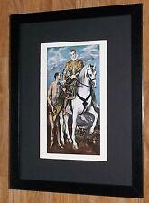 """Incorniciato 12"""" x16"""", El Greco, St. Martin, i comandanti dipinti, BIBBIA DIPINTI"""