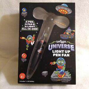 Smiggle Universe Light Up Fan Pen - Brand New with AA Battery Pen Light Fan New