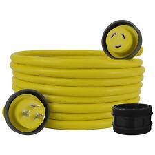 Conntek 17105-050RE NEMA L5-30 30 Amp Marine Shore Power Cord, 50ft. Yellow
