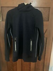 Superdry Sport Gym Tech Pull-On Hoodie Mens Small