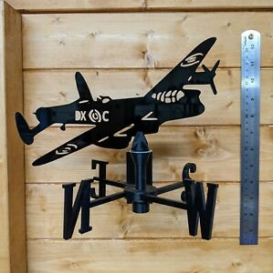 The Mighty Lancaster Bomber (Larger) Acrylic Weather Vane For Wall, Pole or Post