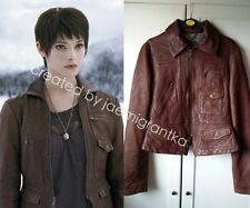 ASO Alice Cullen BD2 Banana Republic Leather Patch Pocket Jacket size M