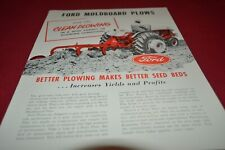 Ford Tractor Moldboard Plows For 1956 Dealers Brochure AMIL15