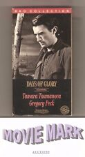 DAYS OF GLORY 1944 (Turner Home Entertainment) Gregory Peck vhs & DEAD END 1937!