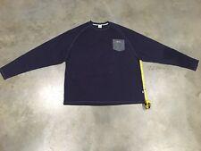 New Orisue 'Dezi' L/S Pocket T-Shirt In 'Navy' - Sz.4XL NWT 100% Authentic!