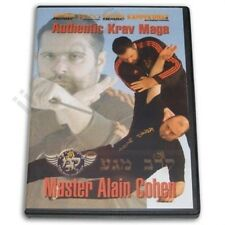 Authentic Israeli Krav Maga Alain Cohen DVD simultaneous defense & attack fight