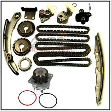 Timing Chain Kit & Water Pump For Nissan Infiniti 3.5L V6 DOHC VQ35DE Altima