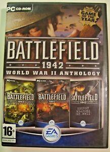 Battlefield 1942: World War II Anthology (PC CD ROMS, 2004,)Euro Version German