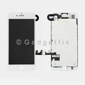 USA White LCD Screen Display Touch Screen Digitizer + Camera Sensor For iPhone 7