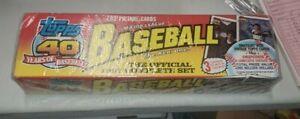 1991 Topps Baseball Complete Factory Sealed Hobby Set 1-792