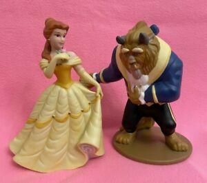 Disney  Beauty & The Beast BELLE Ceramic Porcelain Figurines - Matte Finish EUC