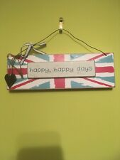 Happy Happy Days Kitchen House Shabby Chic Sign