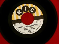 JOHNNY ADAMS~WHO'S GONNA LOVE YOU~ A LOSING BATTLE~RIC~986 ~ SOUL 45