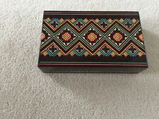 Wooden hand carved box