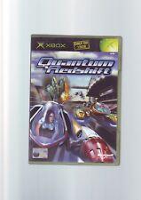 QUANTUM REDSHIFT-XBOX RACING GAME/360 compatibile-Originale & Completo-in buonissima condizione