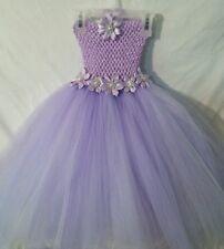 Purple Baby/ Toddler tutu dress/ below knee length/ 5T-8 kids