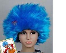 Thing 1 Thing 2 Children's Wig Kids Aqua Boys Girls STRAIGHT Wig Child