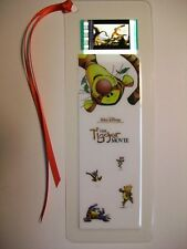 TIGGER Disney Movie Memorabilia Film Cell Bookmark