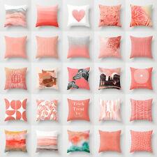 Artificial Coral cushion cover throw pillows case covers sofa car Bed Decorative