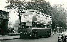 Trolley Bus 612 Mitcham Fair Green Dundee Marmalade Toilets Cart   RH.203