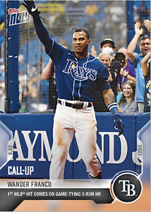 PRESALE 2021 Topps Now Wander Franco MLB Debut Rookie Card RC Rays #402 QTY