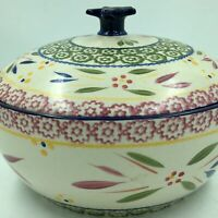 Temp-tations Old World-Confetti 2.5 qt. Round Casserole w/ Figural Domed Lid