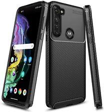For Motorola Moto G Stylus Case Ultra Sim Thin Fit Carbon Fiber TPU Phone Cover