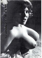 Model nude girl photo female print big busty breasts woman picture TOPLESS-m11