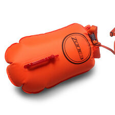 2017 Zone3 Swim Buoy/Dry Bag 28L-Orange