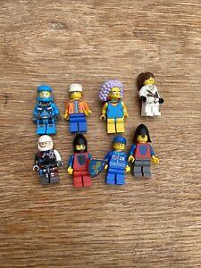 8 X LEGO Mini Figures Job Lot Bundle Minifigures Mixed soldier simpsons city