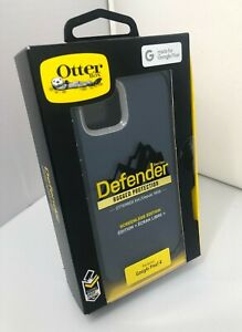 NEW OtterBox Defender Case with Holster for Google Pixel 4 - Gone Fishin Blue