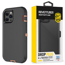 Rugged Case Cover For iPhone X|XR|XS|11|12 MINI PRO MAX Fits Otterbox Belt Clip