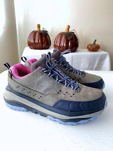 Hoka One One Tor Summit Waterproof Women's Hiking Trail Shoes Size 7.5