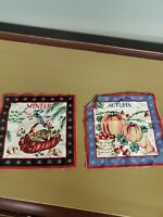 Buy 2 Pillows /& Wall Art Little Mermaid Collage Fan Art 8x8 Fabric Block Get 1 FREE Great for Quilting