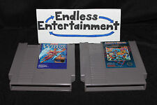Ghosts 'N Goblins & Legendary Wings Capcom Lot NES Nintendo Tested! Cart Only!