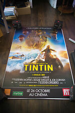TINTIN SECRET OF THE UNICORN B 4x6 ft Bus Shelter D/S Movie Poster Original 2012