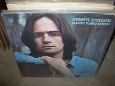JAMES TAYLOR sweet baby james ( rock ) green label - insert / poster -