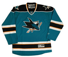 San Jose Sharks Men's Jersey - Embroidered Jersey NHL Licensed REEBOK SIZE XL
