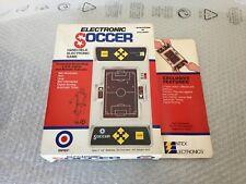 1979#RARE VINTAGE ENTEX  CONSOLE LED GAME SOCCER # NIB BOXED FULL