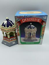 New Open Box Noma Porcelain Gazebo 1996 Dickensville Collectibles.