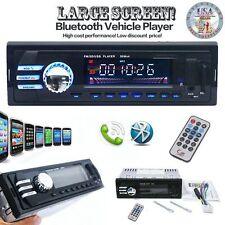 In-Dash Car Bluetooth USB CD FM Stereo Audio Aux Input Receiver MP3 Radio Player
