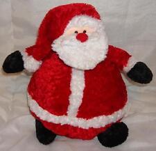 NUOVO Russ Berrie Roly Poly Babbo Natale Claus brancarella Babbo Natale giocattolo di vendita