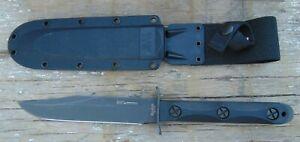 KA-BAR Johnny Ek 45 Commando Fixed Blade Knife w/Celcon sheath, NIB, free ship
