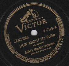 Seller's Musette Or on 78 rpm Victor V-739: How About It?/Twinkle Toes; Cond V+