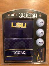 buy online d7ada 3e048 LSU Tigers NCAA Golf Balls (3), Towel   12 Tees Set