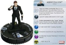 Marvel Heroclix Avengers movie gravité GF agent coulson # 206