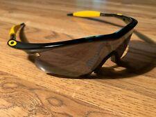 Oakley M Frame Livestrong Edition Black/Yellow Hybrid S Iridium Rare!!!